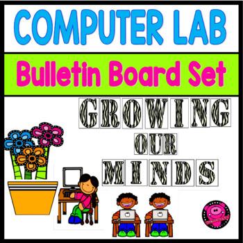 COMPUTER LAB BULLETIN BOARD DECOR