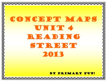 CONCEPT MAPS - UNIT 4 - SECOND GRADE READING STREET (2013