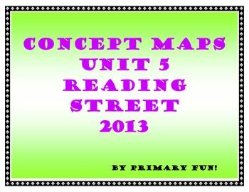 CONCEPT MAPS - UNIT 5 - SECOND GRADE READING STREET (2013
