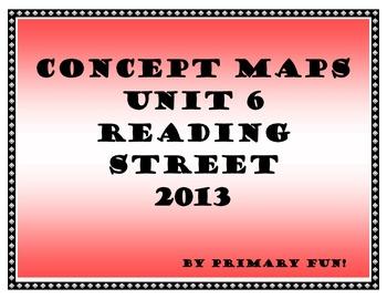 CONCEPT MAPS - UNIT 6 - SECOND GRADE READING STREET (2013