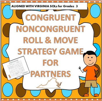 CONGRUENT AND NONCONGRUENT ROLL & MOVE STRATEGY GAME 3rd G