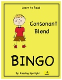 Reading Game: Consonant Blends (Learn to Read Bingo)