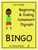 Reading Games:Beginning and Ending Consonant Digraphs (Lea