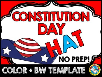 PRESIDENT DAY CRAFTS HAT (PATRIOTIC ACTIVITIES) PRESIDENT'