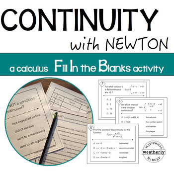 CONTINUITY and NEWTON