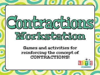 CONTRACTIONS Workstation