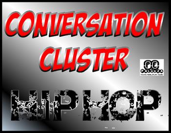 CONVERSATION CLUSTER / WORD WALL HIP HOP