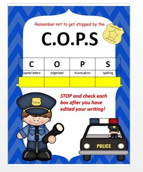 C.O.P.S. -Capitalization, Organization, Punctuation and Spelling