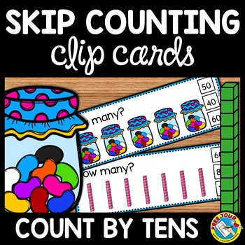 SKIP COUNTING CLIP CARDS: SKIP COUNTING ACTIVITIES: COUNTI