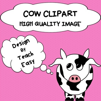 COW CLIPART - DIGITAL IMAGE