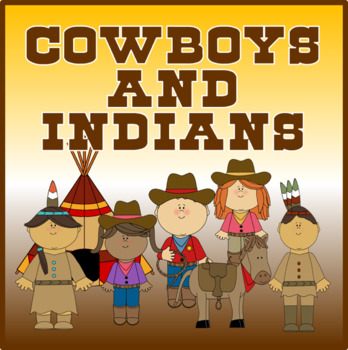 COWBOYS & INDIANS ROLE PLAY -S HISTORY EARLY YEARS KEY STA