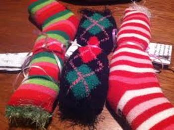 COZY Socks:  Calming Deep Pressure Sensory SOCKS… to hold,
