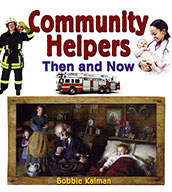 Community Helpers Then and Now (eBook)
