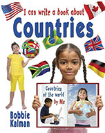 I can write a book about countries (eBook)