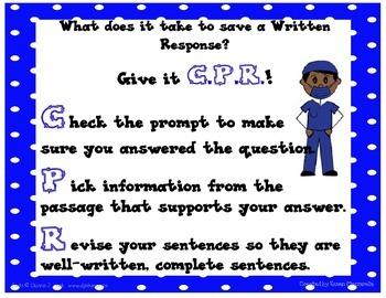 C.P.R. for Written Responses