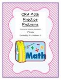 CRA Practice Problems - 4th Grade