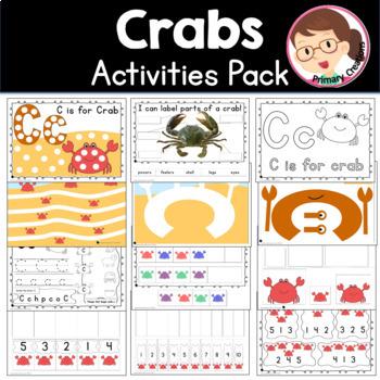 Preschool Crabs Ocean Pack