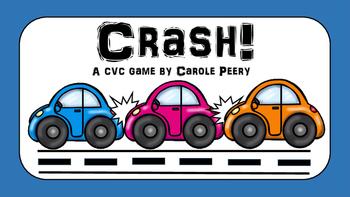CRASH! CVC Word Games