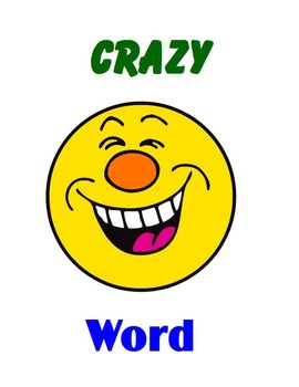 CRAZY Word Combo Sets 041 to 050 (Fry Words 401 to 500)