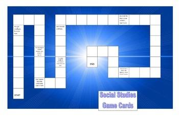 CRCT 6th grade Social Studies Review Game 1
