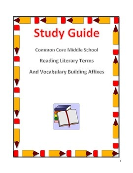 Common Core Middle School Reading, Grammar and Vocabulary