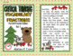 CRITICAL THINKING: Forest Friends Vocabulary Fractions set 1
