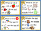 CRITICAL THINKING: Forest Friends Vocabulary Fractions set 3