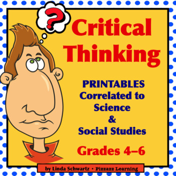 CRITICAL THINKING Printables Grade 5