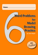 Word Problems for Model Drawing Practice Level 6 [Single U