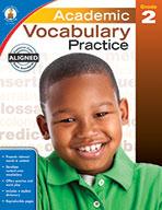 Academic Vocabulary Practice, Grade 2 (eBook)