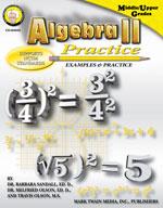 Algebra II Practice Book by Mark Twain Media