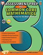 Assessment Prep For Common Core Mathematics, Grade 8 (ebook)