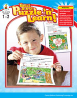 Bible Story Puzzle 'n Learn!, Grades 1-2