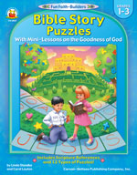 Bible Story Puzzles, Grades 1-3