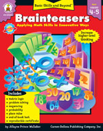 Brainteasers, Grades 4-5