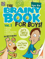 Brainy Book For Boys, Volume 1, Ages 6+ (eBook)