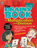 Brainy Book Of Multiplication And Division, Grades 3-4
