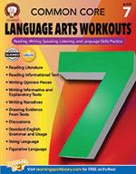 Common Core Language Arts Workouts, Grade 7 (ebook)