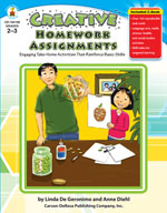 Creative Homework Assignments, Grades 2-3