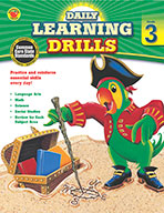 Daily Learning Drills, Grade 3 (ebook)