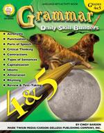 Daily Skill Builders: Grammar: Grades 4-5 by Mark Twain Media