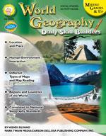 Daily Skill Builders: World Geography by Mark Twain Media