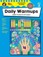 Daily Warmups Math Problems, Grade 2