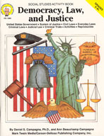 Democracy, Law, and Justice by Mark Twain Media