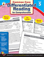 Differentiated Reading for Comprehension, Grade 5 (ebook)