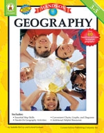 Hands-On Geography, Grades 3-5
