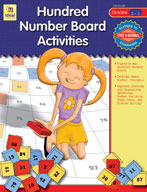 Hundred Number Board Activities, Grades 2-3