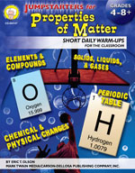 Jumpstarters for Properties of Matter by Mark Twain Media