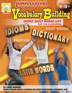 Jumpstarters for Vocabulary Building by Mark Twain Media