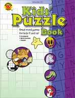 Kids' Puzzle Book (Volume 2)